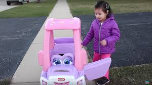 100 Truck Cozy Coupe Sweet Girl Riding In The Little Tikes Princess