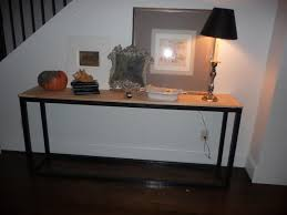ana white super easy console table diy projects