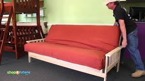 Kebo Futon Sofa Bed Assembly by How To Operate The Savannah Sofa Bed Youtube