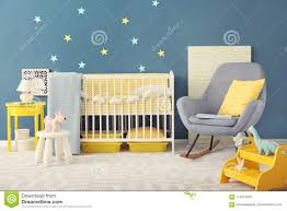 Baby Room Interior With Crib And Rocking Chair Stock Photo ... White Glider Rocker Wide Rocking Chair Hoop And Ottoman Base Vintage Wooden Baby Craddle Crib Rocking Horse Learn How To Build A Chair Your Projectsobn Recliner Depot Gliders Chords Cu Small For Pink Electric Baby Crib Cradle Auto Us 17353 33 Offmulfunctional Newborn Electric Cradle Swing Music Shakerin Bouncjumpers Swings From Dolls House Fine Miniature Nursery Fniture Mahogany Cot Pagadget White Rocking Doll Crib And Small Blue Chair Tommys Uk Micuna Nursing And Cribs