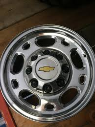 100 Chevy Truck Center Caps For Sale BRAND NEW 2500 Wheels POLISHED Factory PYO