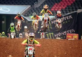 Atlanta Amateur Motorcyclists In Monster Energy Supercross