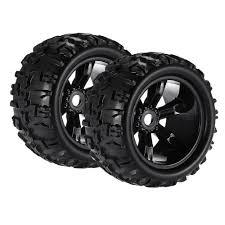 100 Rc Truck Wheels 2pcs 18 Climbing RC Car Tyres For HSP HPI EMAXX