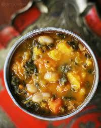 Pumpkin Butternut Squash Soup Curry by Kale And Roasted Vegetable Soup Recipe Simplyrecipes Com