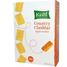 Kashi Pumpkin Spice Flax Discontinued by Kashi Snack Crackers Country Cheddar 8 Oz 227 G Iherb Com