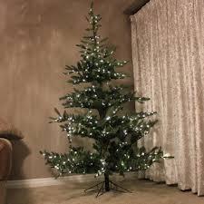 9ft Pre Lit Green Snow Effect Liberty Pine Artificial Christmas Tree