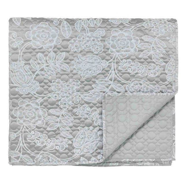 Helena Springfield Letty Ash Quilted Throw