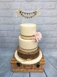 Rustic Log Wedding Cake