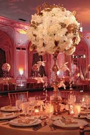 Beautiful Tablescape Tall White Centerpiece For Wedding Elegant