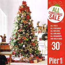 Sears Canada Pre Lit Christmas Trees by Pier 1 Imports Black Friday 2017 Ads Deals And Sales