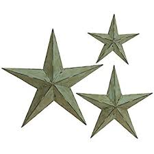 Deco 79 Metal Wall Star 24 Inch 18 And 12 Set Of 3