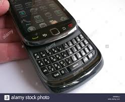 1st UK delivery of the Blackberry Torch 9800 smartphone by