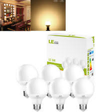 led 8 watt warm white 5 inch large globe light bulbs g40 l 40