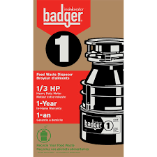insinkerator badger 1 1 3 hp garbage disposal faucetdepot com