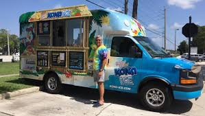 Kona Ice Franchisee Gears Up To Expand His Business In Jacksonville ... Kona Ice Truck Stock Photo 309891690 Alamy Breaking Into The Snow Cone Business Local Cumberlinkcom Cajun Sisters Pinterest Island Flavor Of Sw Clovis Serves Up Shaved Ice At Local Allentown Area Getting Its Own Knersville Food Trucks In Nc A Fathers Bad Experience Cream Led Him To Start One Shaved In Austin Tx Hanfordsentinelcom Town Talk Sign Warmer Weather Is On Way Chain