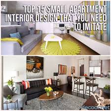 100 Interior Design Apartments Top 15 Small Apartment That You Need To Imitate DECOOR