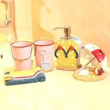 Cheap Beach Themed Bathroom Accessories by Beach Bathroom Set U2013 Buildmuscle