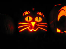 Cute Carved Pumpkins Faces by Free Halloween Pumpkin Carving Stencils Of Cats Or Dogs