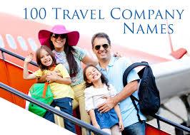 100 Travel Company Names