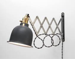 scissor l articulating adjustable brass swing sconce