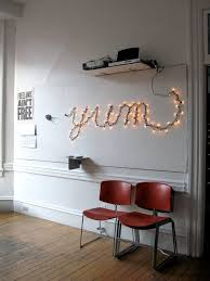 how to hang lights on wall decor inspirations