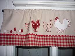 rideau de cuisine brise bise tuto ou idée de brise bise poules et sac à linge assorti l