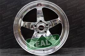 Weld Wheels Polished RT S S71 5x45 18x90 Mitsubishi EVO Evolution 8 9 Set Of 4