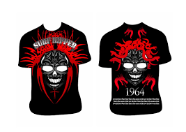 bold serious t shirt design for sean white by ameer fahi design