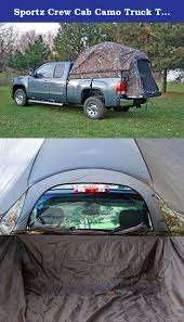 Sportz Crew Cab Camo Truck Tent (Full Size). Why Camp In An Ordi ...