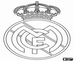 Real Madrid Emblem Steaua Bucharest Coloring Page