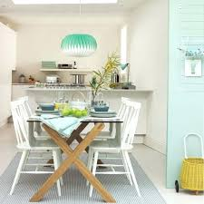 Modern Dining Room With Pale Green And White Walls Sets