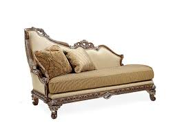 BT 075 Italian Mahogany Chaise Lounge   Accent Seating