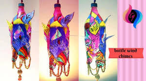 Diy Wind Chime Out Of Plastic Bottle Making Crafts With Bottles Step By