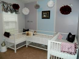 Great Ideas Of Monkey Nursery by Short On Space Triplet Nursery Triplets Pinterest Triplets