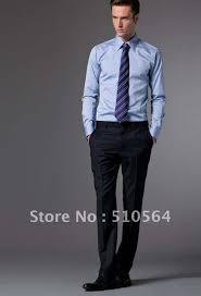 Custom made men Cotton shirt Business men slim fit shirt light
