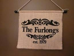 Burlap Wall Hangings Hanging Tutorial Marvelous Ideas Decor Dazzling Design Personalized Banner