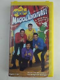 Sesame Street A Magical Halloween Adventure Vhs by The Wiggles Magical Adventure Vhs What U0027s It Worth