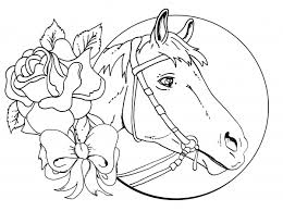 Lisa Frank Horse Coloring Pages