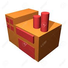 Supplier Warehouse Clipart 40021