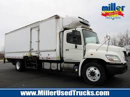 100 Miller Trucking 2012 HINO 338 REEFER TRUCK FOR SALE 3381