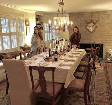 We Did Add A Chandelier To The New Dining Room Ballard Designs But Not Much Else Had Change Original Fireplace Just Adds Cozy Fall Or Winter