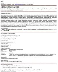 Find FREE Resume Cv Biodata Format Samples Examples For Mechanical Engineer Get Your Written By Experts And Professionals To