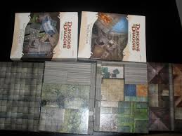 dungeons and dragons tiles master set box will travel this is my