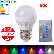 best new sale e27 3w rgb led changing light l bulb led rgb
