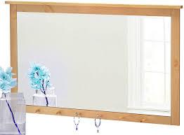 loft24 spiegel 6 haken wandspiegel kiefer massiv