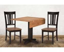 Copenhagen Drop Leaf Table With 2 Side Chairs