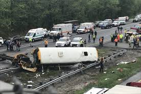 2 Dead, 40 Injured After NJ School Bus Collides With Dump Truck In ... Truck Accident Lawyer Nj Have You Been Injured In A Teacher Student Killed Horrific Accident Volving School Bus Driver Tanker Truck On New Jersey Turnpike Two Dead As Crashes With Triaxle Dump Collides And Overturns Onto Vehicle Sending Fedex Tractor Trailer Overturns Snarling Traffic Man Dies Crash With Ctortrailer Police Nbc Company Involved Deadly Crash Has Causes Big Delays On Route 78 Cbs Local Deli Meat Collides Bread Highway Mount Olive 80 School Dump