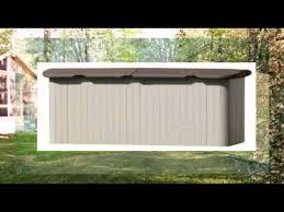 Suncast Horizontal Utility Shed Bms2500 by Suncast Horizontal Storage Shed Review Youtube