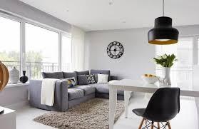 salon avec canapé gris aménagement salon contemporain 32 photos et idées cool salons