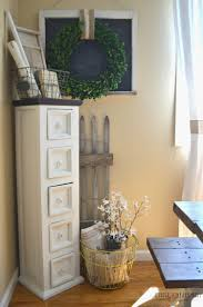 Farmhouse Decor And Dining Room Storage Cabinet